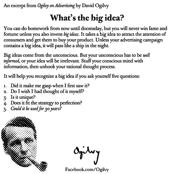 From Ogilvy on Advertising